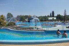 Egészségnap folytatása a Virág fürdőben Kaposváron 2014.06.30.