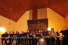 Karácsonyi koncert a Lippói Nemzetiségi Fúvós Zenekarral 2016.12.17.